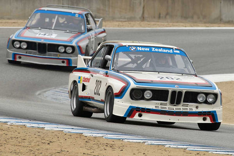 Ch Dehaan - 1975 BMW CSL Turbo in Group 4A  at the 2016 Rolex Monterey Motorsport Reunion - Mazda Raceway Laguna Seca