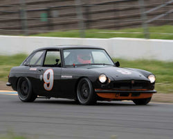 Scott Brown with 1966 MGB GT in Group 2 - at the 2016 CSRG David Love Memorial - Sears Point Raceway