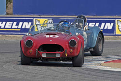Dyke Ridgley - 1964 Shelby 289 Cobra in Group 6B  at the 2016 Rolex Monterey Motorsport Reunion - Mazda Raceway Laguna Seca