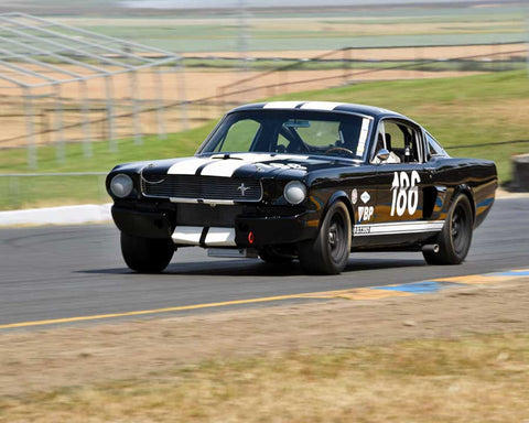 Michael Parsons with 1966 Shelby Mustang GT 350 in Group 6 - 1962-1972 Production and GT Cars Over 2000cc at the 2015 Sonoma Historic Motorsports Festival at Sonoma Raceway