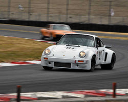 Cameron Healy with 1977 Porsche 911 RSR in Group 5 - WSC and World Manufactuer's Championship 1960-1972 at the 2015 Portland Vintage Racing Festival at Portland International Raceway