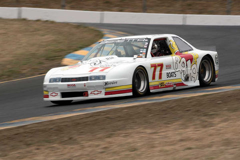 Nick De Vitis with 1988 Chevrolet Beretta in Group 13 at the 2016 SVRA Sonoma Historics - Sears Point Raceway