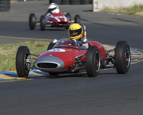 Marty Benck driving his 1962 Lotus 22 FJr in Group 5 at the 2015 CSRG David Love Memorial Vintage Car Road Races at Sonoma Raceway
