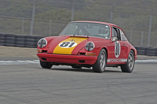 Ed Matsuishi - 1967 Porsche 911SR in Group 3B  at the 2016 Rolex Monterey Motorsport Reunion - Mazda Raceway Laguna Seca