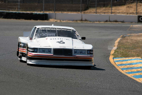 Mike McNamee with 1985 Buick Somerset in Group 13 at the 2016 SVRA Sonoma Historics - Sears Point Raceway