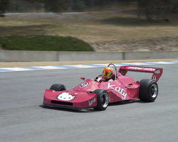 Tom Minnich driving his 1977 Ralt RT1 in Group 2 at the 2015 HMSA LSR Inventional I at Mazda Raceway Laguna Seca