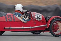 Larry Ayers - 1930 Morgan Super Aero in Group 1A - Pre 1940 Sports Racing & Touring Cars at the 2017 Rolex Monterey Motorsport Reunion run at Mazda Raceway Laguna Seca