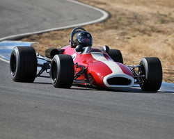 Greg Vroman with 1969 Brabham BT29 in  Group 7 at the 2015 Season Finale at Thunderhill Raceway