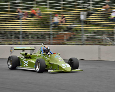 Robert Dustan with 1984 Anson SA4 in Group 9 - Wings and Slicks - Open Wheel Cars 1973-2008 at the 2015 Portland Vintage Racing Festival at Portland International Raceway