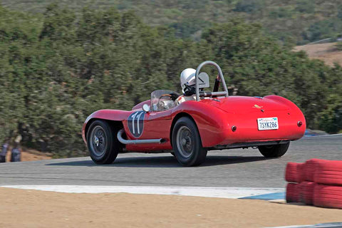 Gary Cox - 1953 Healey Special 100 in Group 3A - 1955-1961 Sports Racing Cars over 2000cc at the 2017 Rolex Monterey Motorsport Reunion run at Mazda Raceway Laguna Seca