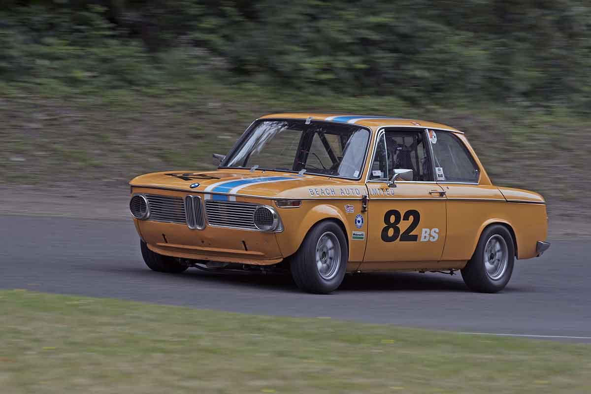 Paul Haym - 1969 BMW 2002 in Group 2B at the 2017 SOVREN Pacific Northwest Historicsrun at Pacific Raceways