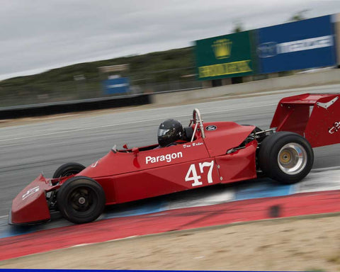 Danny Baker driving his Ralt RT1 in Group 2 at the 2015 HMSA Spring Club Event at Mazda Raceway Laguna Seca
