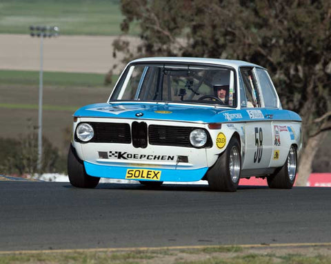 Steve Walker with 1972 BMW 2002 in Group 8 - at the 2016 CSRG David Love Memorial - Sears Point Raceway