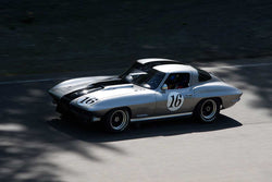 Jim Gallauger with 1967 Chevrolet Corvette in Groups 2&3  at the 2016 SOVREN Spring Sprints, Pacific Raceway