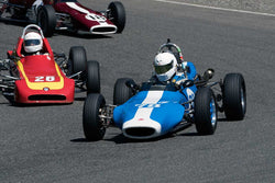 Charlie Lyford with 1970 Caldwell D9b in Groups 4-5-6 - at the 2016 SOVREN Spring Sprints, Pacific Raceway