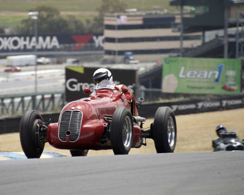 Paddins Dowling with 1948 Maserati 48 CLT in Group 1 - Pre-1941 Sport and Touring, 1925-1941 Racing Cars at the 2015 Sonoma Historic Motorsports Festival at Sonoma Raceway
