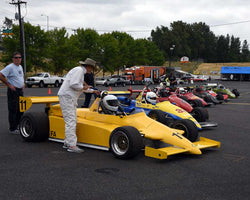 Group 9 in Group 9 - Wings and Slicks - Open Wheel Cars 1973-2008 at the 2015 Portland Vintage Racing Festival at Portland International Raceway