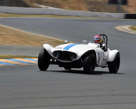Robert Manson with 1953 The Tatum GMC Special in Group 2 - 1946-1955 Sports Racing and Production Cars at the 2015 Sonoma Historic Motorsports Festival at Sonoma Raceway