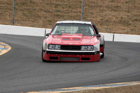 Les Werling with 1982 Mercury Capri in Group 13 at the 2016 SVRA Sonoma Historics - Sears Point Raceway