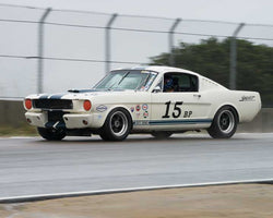 Bob Stockwell with 1965 Ford Mustang in Group 5 -  at the 2016 HMSA Spring Club Event - Mazda Raceway Laguna Seca