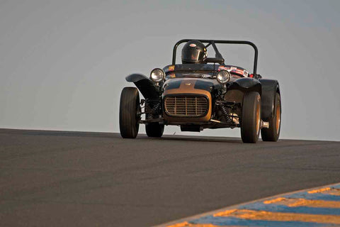 Paul Quackenbush - 1963 Lotus S7 in Group 3 - Large Displacement Production Sports Cars through 1967 at the 2017 CSRG Charity Challenge run at Sonoma Raceway