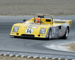 Tom Minnich with 1978 Chevron B36 in Group 4  at the 2016 HMSA Spring Club Event - Mazda Raceway Laguba Seca