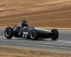Mark Sange with 1959 BMC Huffaker FJ in  Group 5 at the 2015 Season Finale at Thunderhill Raceway