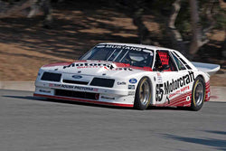 Ross Myers - 1985 Ford Roush Mustang in Group 7B - 1973 1991 IMSA GTU, GTO / Trans AM Cars at the 2017 Rolex Monterey Motorsport Reunion run at Mazda Raceway Laguna Seca