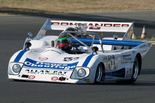 Mark Colbert with 1979 Lola T297 in Group 11 at the 2016 SVRA Sonoma Historics - Sears Point Raceway