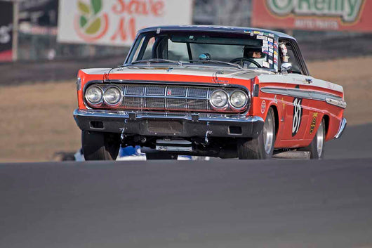 Greg Umphenour - 1964 Mercury Comet in Group 3 - Large Displacement Production Sports Cars through 1967 at the 2017 CSRG Charity Challenge run at Sonoma Raceway