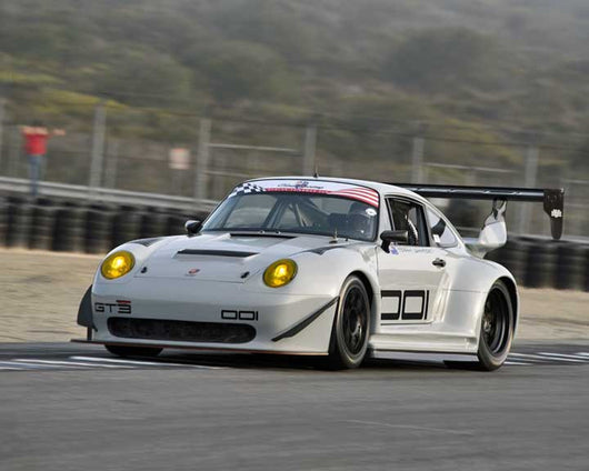 Mark Whyman with 1995 Porsche 993 in Group 1 - PCA Sholar-Friedman Cup at the 2015 Rennsport Reunion V, Mazda Raceway Laguna Seca