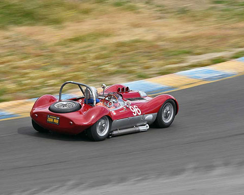 Wes Abendroth with 1960 Witton Special in Group 4 - 1955-1960 Sports Racing Cars at the 2015 Sonoma Historic Motorsports Festival at Sonoma Raceway