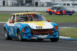 Howard Roth - 1971 Datsun 240z - Group 8 at the 2017 Brickyard Vintage Racing Invitational run at Indianapolis Motor Speedway