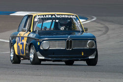 Simon Robinson - 1971 BMW 2002 Alpina - Group 8 at the 2017 Brickyard Vintage Racing Invitational run at Indianapolis Motor Speedway