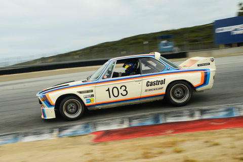 Thor Johnson - 1974 BMW Schnitzer 3.5 Liter in Group 6 at the 2017 HMSA Spring Club Event - Mazda Raceway Laguna Seca