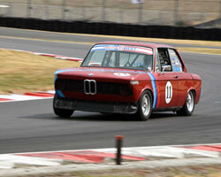 Kurt Blasman with 1970 BMW 2002 in Group 8 - Production Sports Cars and Sedan 1973-1985 at the 2015 Portland Vintage Racing Festival at Portland International Raceway