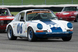 Skott Burkland - 1969 Porsche 911 - Group 8 at the 2017 Brickyard Vintage Racing Invitational run at Indianapolis Motor Speedway