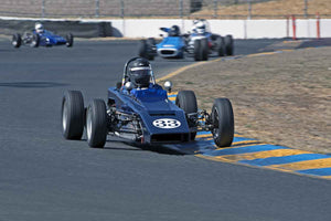 Roger Pujol - 1969 Bobsy FF in Group 6 -  at the 2016 Charity Challenge - Sonoma Raceway