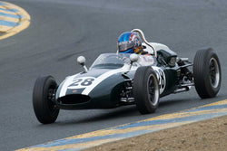 John Fudge with 1961 Cooper T56 in Group 4 -  at the 2016 SVRA Sonoma Historics - Sears Point Raceway
