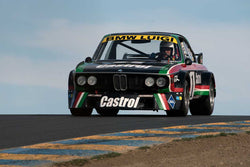 Steve Walker with 1976 BMW CSL in Group 12 at the 2016 SVRA Sonoma Historics - Sears Point Raceway