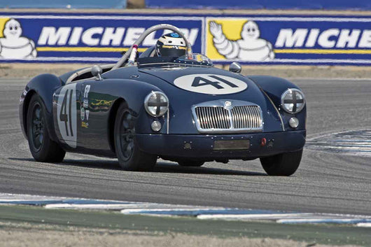 Michael Silverman - 1957 MGA in Group 3A 2016 Rolex Monterey Motorsport Reunion - Mazda Raceway Laguna Seca