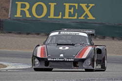 Gunnar Jeannette - 1980 Porsche 935 in Group 4A  at the 2016 Rolex Monterey Motorsport Reunion - Mazda Raceway Laguna Seca