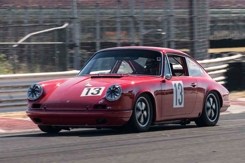 Paul Gaudio - 1968 Porsche 912 in Group 8 at the 2017 SVRA Portland Vintage Racing Festival run at Portland International Raceway