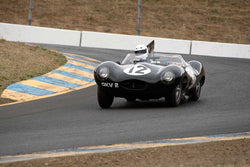 Dean Meiling with 1954 Jaguar DwithType in Group 2  at the 2016 SVRA Sonoma Historics - Sears Point Raceway