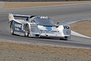 Zak Brown - 1986 Porsche 962 in Group 5B  at the 2016 Rolex Monterey Motorsport Reunion - Mazda Raceway Laguna Seca