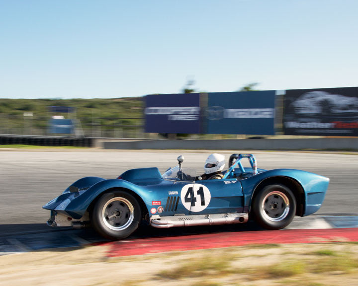 Greg Meyer with 1962 Dailu MK2 at the 2016 HMSA LSR Invitational I at Mazda Raceway Laguna Seca