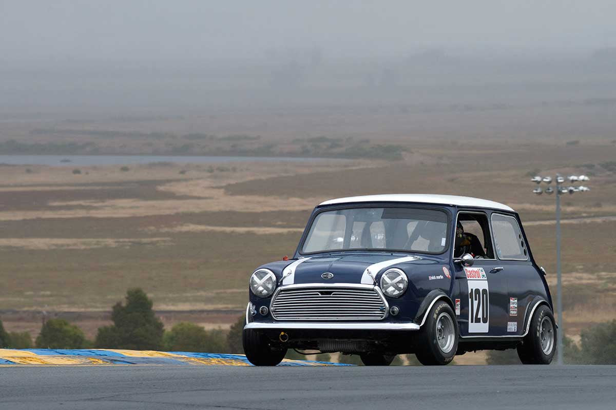 Nick Martin - 1967 Mini Cooper S in Group 2 -  at the 2016 Charity Challenge - Sonoma Raceway