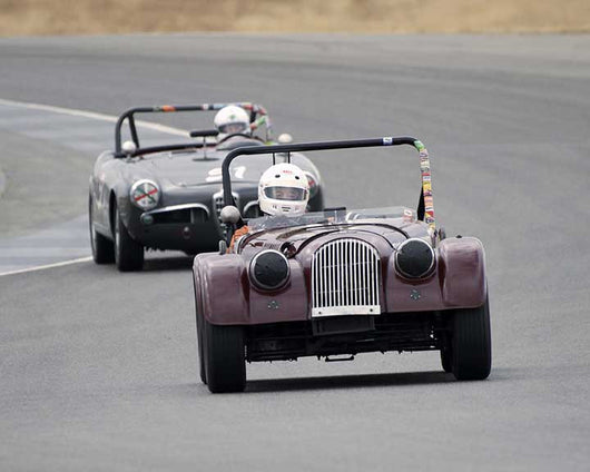 Tom Morgan with 1956 Morgan 4with4 in  Group 1 at the 2015 Season Finale at Thunderhill Raceway