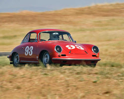 Chris Torp driving his 1963 Porsche 356B in Group 2 at the 2015 CSRG Thunderhill Rolling Thunder at Thunderhill Raceway