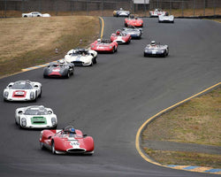 PreGrid for Group 7 - 1959-1966 Sports Racing and 1964-1970 FIA Cars at the 2015 Sonoma Historic Motorsports Festival at Sonoma Raceway
